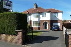 4 bed semi-detached house for sale in Church Lane, Crewe Garage Extension, 1930s House Extension, House Extension Plans, House Extension Design, Side Extension, Extension Google, Extension Ideas, 1930s House Exterior Uk, 1920s House