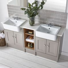 Burford Mocha Fitted Bathroom Furniture | Roper Rhodes