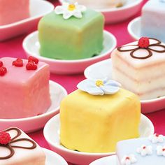 Petit fours: i want them served at my wedding.