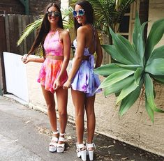 Matching summer co-ord outfits. Peppermayo