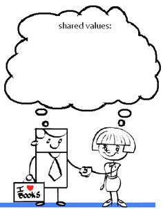 What you should be aiming for in building relationships is a long-term partnership based on shared values.