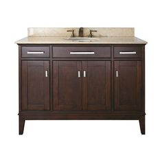 Avanity MADISON-VS48 Madison 48-in Bathroom Vanity with Counterto and Undermount Single Sink