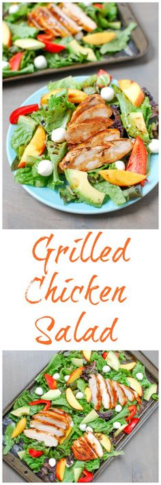 light and fresh summer lunch or dinner, this Grilled BBQ Chicken ...
