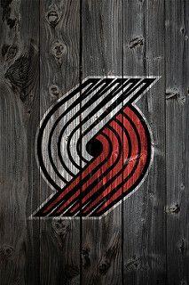 Portland Trailblazers Wood iPhone 4 Background | by anonymous6237