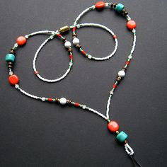 Handmade Beaded Lanyard - Native Inspiration