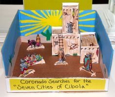 Shower of Roses: New World Explorers :: A Pueblo Diorama add to naand publous