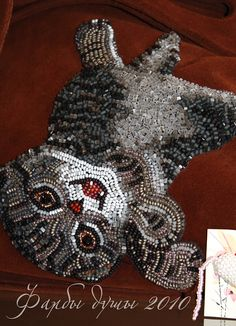 Anna Dehtyareva. Amazing beadwork!