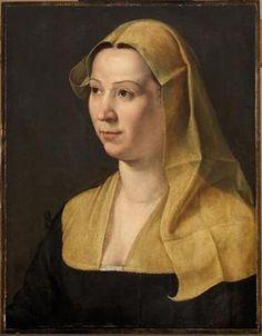 A Woman, ca. 1540 (Unknown Florentine Master ) Kunsthistorisches Museum, Wien GG_338