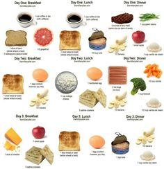 Military diet plan