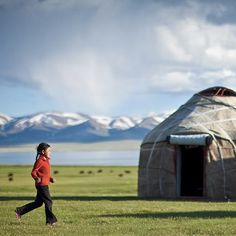 Song Kul lake #Kyrgyzstan