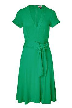 MojitoV-NeckjerseyDressbyISSA. #issa #dress