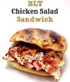 BLT Chicken Salad Sandwich recipe