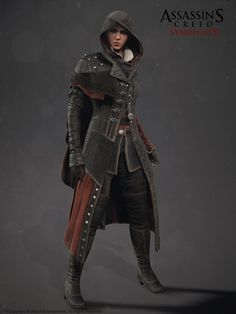 Assassin's Creed Syndicate Evie Frye , Alexis Belley on ArtStation at www. Assassins Creed Cosplay, Assassins Creed Syndicate Evie, Rogue Assassin, Female Assassin, Assassins Creed Unity, Steampunk, Evie Frye Cosplay, Larp, Assasins Cred