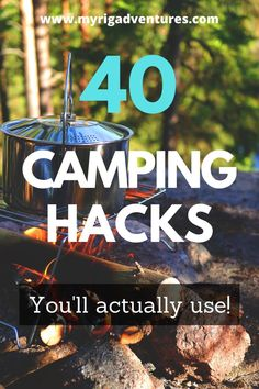A successful camping trip is all about being organised and having all of your resources on hand. Here are 40 camping hacks that will get you sorted. From water tips, rubbish hacks, power tips, food tips and more. #camping #hacks #roadtrip #boondocking #freecamping Travel Info, Travel Tips, Camping Aesthetic, Camping Hacks, Camping Ideas, Cool Tents, Back Off, Camping With Kids, Rv Life