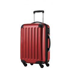 """Alex - Handgepäck Hartschale Rot glänzend, 55 cm, 42 Liter; Roter #Rollkoffer aus der Serie """"Alex"""" von #Hauptstadtkoffer.  #Hartschalenkoffer #Handgepäck #Cabinsize #Boardtrolley #Rot #Rollkoffer #Trolley #Koffer #Travel #Luggage #Reisen #Urlaub #red #rouge => mehr Rote Koffer: https://hauptstadtkoffer.de/de/catalogsearch/result/index/?color=26&limit=90&q=Rot"""