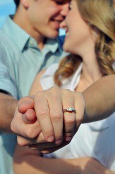 Engagement photoshoot...adorable!