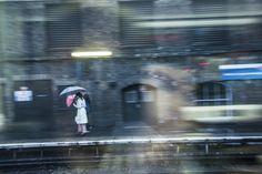 London #london #uk #photos #rain #city #station