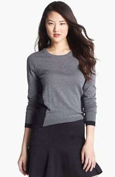 Halogen® Crewneck Sweater (Regular & Petite) available at #Nordstrom