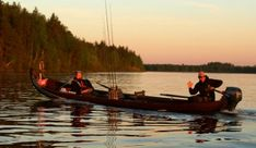 Naamisuvanto Salmon Fishing Resort with fly fishing and guided fishing tours in Pello in Lapland Finland - Tornio River Finnish Lapland Fly Fishing, Fishing Trips, Lapland Finland, Salmon Fishing, Boat, Tours, River, Dinghy, Boats