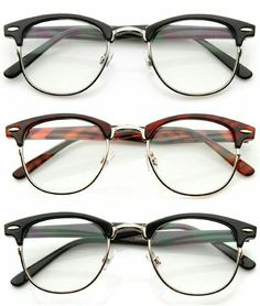 Glasses can turn every casual outfit into a smart one!