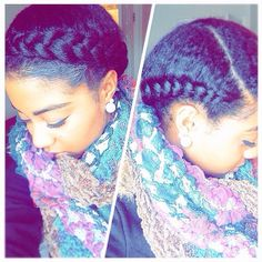 @billyalex_ My go to lazy day style | helps protect, too. (There's no added hair)#Hair2mesmerize #naturalhair