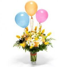 Se la tua parola d'ordine è 'allegria'... allora questo è il bouquet che fa per te, adatto per festeggiare compleanni, onomastici e per ogni altra allegra occasione!