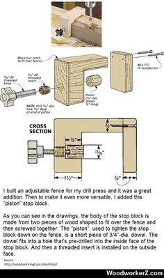 Piston Stop Block Clamp. #DIY #handtools