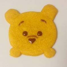 Recipe/Tutorial: Pooh Tsum Tsum Honey Shortbread   Pretty Cake Machine