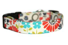 Multi Neon Floral Dog Collar by ALeashACollar on Etsy Handmade Dog Collars, Handmade Gifts, Neon, Personalized Items, Trending Outfits, Unique Jewelry, Dogs, Floral, Accessories
