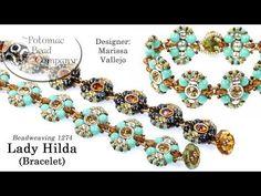 Lady Hilda Bracelet (DIY Jewelry-Making Tutorial) - YouTube