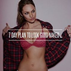 7 Day Plan to Look Good #Naked ... → #Fitness #Workout