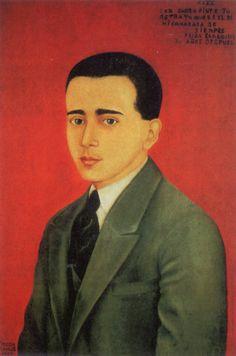 """""""Ritratto di Alejandro Gòmez"""", 1928. Frida Kahlo"""