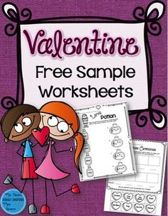 Free sample rhythm and melody Valentine worksheets. So much fun and great for assessment!