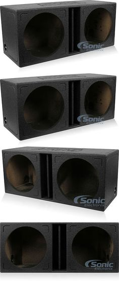 STAGE 1 DUAL PORTED SUBWOOFER MDF ENCLOSURE FOR ORION HCCA10 SUB BOX