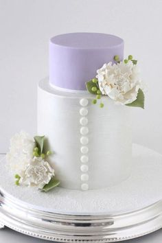 How to stack and cover the barrel cake aka the extended tiered cake.