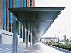 Image result for 建築 スリット アルミパネル