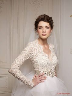 wedding dress lace front
