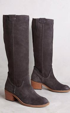 Shop boots for every occasion in The Boot Shop at Anthropologie. Discover unique booties, tall boots, weather boots and more, including the season's newest arrivals. Bootie Boots, Shoe Boots, Rain And Snow Boots, Boot Shop, Sock Shoes, New Shoes, What I Wore, Riding Boots, Fashion Shoes