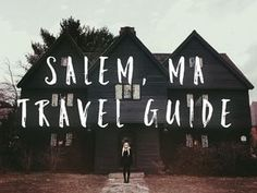 THE BEST Salem, Massachusetts travel guide 2019 from a New Orleanian's perspective! Best food, bars, and things to do in Salem. Boston Vacation, Boston Travel, Vacation Spots, East Coast Travel, East Coast Road Trip, New England Fall, New England Travel, Bora Bora, Salem Halloween