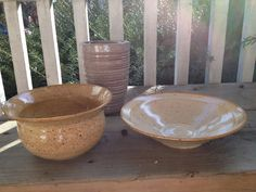 Pottery.   www.etsy.com/shop/jpsaintp  www.ARTbyJSP.com Serving Bowls, Pottery, Tableware, Shop, Etsy, Ceramica, Dinnerware, Dishes, Pots