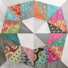 quilt pattern Octo by Zen Chic, fabric line FOR YOU, sewn by Holly Draney