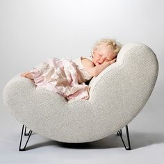 Design House Stockholm Lisa Widen White Cloud Chair | Pure Home