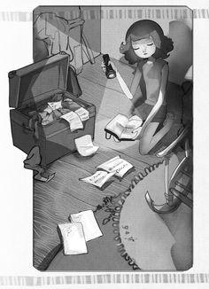 IL LAGO DEL TEMPO FERMO Piemme- Il battello a vapore Illustration by SIMONA BURSI