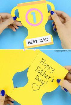 Cartão Criativo para Dia dos Pais Educação Infantil Mothers Day Crafts For Kids, Fathers Day Crafts, Happy Fathers Day, Diy For Kids, Infant Activities, Activities For Kids, Fun Crafts To Do, Father's Day Diy, Dad Birthday