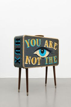 Aaron Rose, YOU ARE NOT THE TARGET (Tribute to Aldous Huxley), 2013