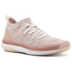 7cb66beca88 Reebok Females Ultra Circuit TR Ultraknit in Chalk Pink   Pale Pink   White  Size - Studio Shoes