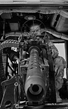 https://flic.kr/p/pQmzm5   50 cal   An Army Air Corps Door Gunner onboard a Lynx Mk9A helicopter with 672 Squadron in Afghanistan, is pictured looking through the sights of a Heavy Machine Gun (HMG).   The Army Air Corps are now deploying the Mk 9A variant of the Lynx helicopter, which has a more powerful engine than the MK7 predecessor. The new engine allows the helicopter to fly faster, carry more weight and fly in hotter conditions (the Mk 7 was unable to fly in the day time during the…