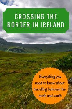 crossing the Irish border