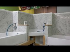 Liking the setup though id only have 2 tubs the walk in for bathing room 3 tub set up solutioingenieria Choice Image