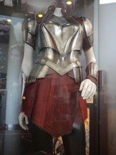 THOR: THE DARK WORLD. Sif's costume. Costume designer Wendy Partridge